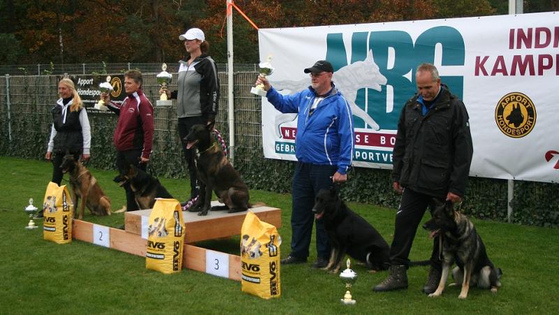 Uitslag NBG Kampioenschap 2018