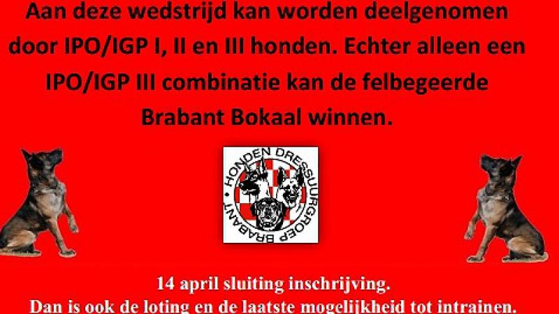 Brabant Bokaal 2e Paasdag (22 april 2019)