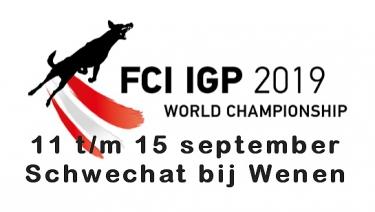 UITSLAG WK FCI IGP 2019