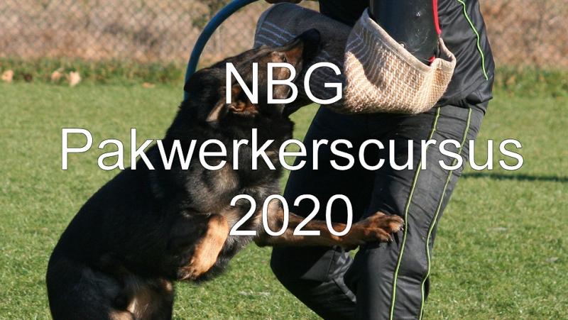 NBG pakwerkerscursus 2020